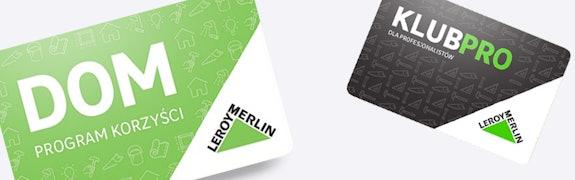 Karta Dom Leroy Merlin Wymieniaj Punkty Na Rabaty