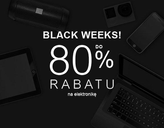 Black Week 2020 już trwa! Do 80% rabatu na elektronikę