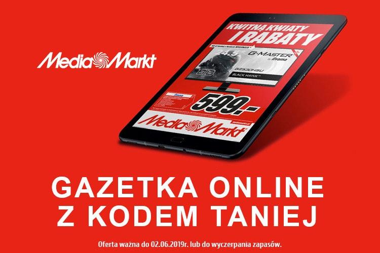 Oszczędzaj do 320 zł z kodem z gazetki Media Markt