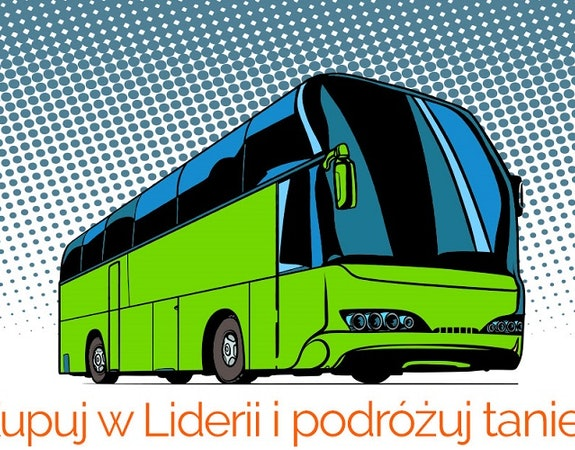 Voucher Flixbus 15% za zakupy w księgarni Lideria