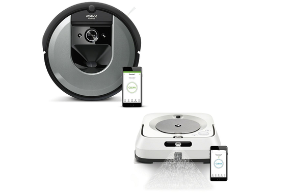 Zestaw iRobot Roomba i7150 + Braava jet m6 aż 799 zł taniej