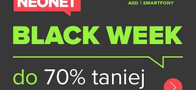 Black Week w Neonet! Zrób zakupy do 70% taniej