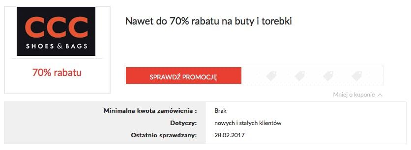 CCC promocje 20% | wrzesień | Kod rabatowy | Newsweek.pl