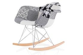 Patchworkowe krzesło z wyprzedaży Home&You 30% taniej