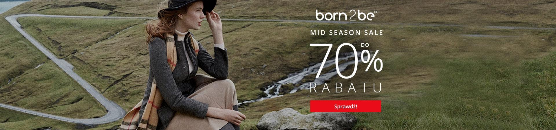 Born2be - Mid Season Sale -70%