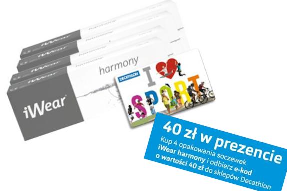 Kod promocyjny Decathlon gratis do iWear® Harmony
