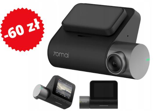 Kamera samochodowa Xiaomi 70mai Pro 60 zł taniej
