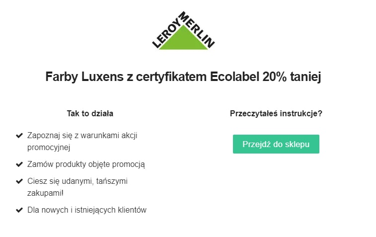 Leroy Merlin Promocje I Kody Rabatowe Kwiecien 2021 50