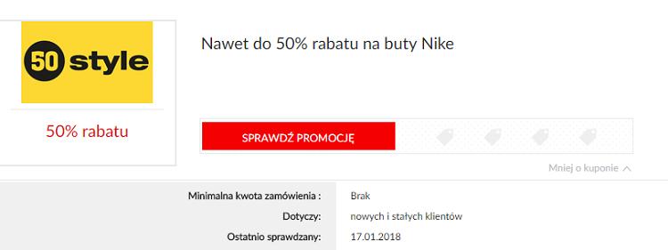 50style Kupony Rabatowe 10% marzec 2020 | 50style Promocje