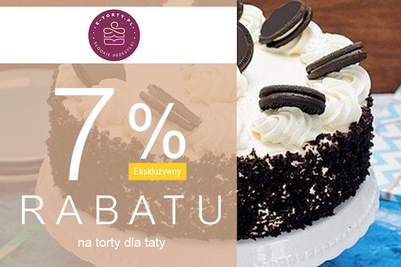 Tort na Dzień Ojca z dostawą 7% taniej